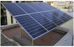 Mounting Structure Grid Tie Solar Power Plant, For Commercial, Capacity: 3-100 kw
