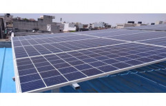Mounting Structure On Grid Solar Power Systems, For Industrial, Capacity: 10 Kw