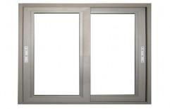 Off White Aluminium Window