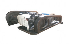 Own Three Belt Driven Double Stage Rotary Vacuum Pump, For Industrial