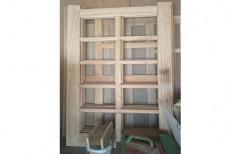 Pine Wood Designer Wooden Door
