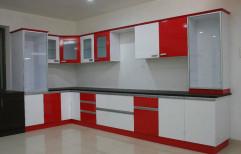 Plywood Modern Straight Modular Kitchen