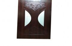 Plywood Polished Wooden Membrane Door
