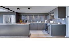 Popo Kitchens Stainless Steel Modular Kitchen Cabinet