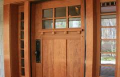 Powder Coated Brown Kitchen PVC Door, Interior, Size/Dimension: 2.5x6.5 Foot