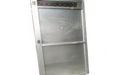 Powder Coated Silver Aluminium Kitchen Door, Size/dimension: 28x72 Inch
