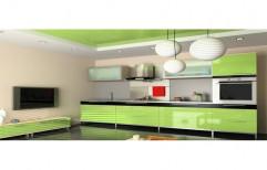 PVC Acme Italian Modular Kitchen, Warranty: 1-5 Years, Kitchen Cabinets