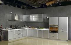 Residential Stainless Steel Modular Kitchen, Warranty: 1 Year