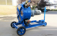 Reverse Drum Mixer Electric Engine Mini CLC Pump, For Construction, Drum Capacity: 1000 L