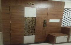 Single Door Hinged Wooden Safety Door for Home