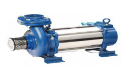 Single-stage Pump 3 Hp and Also available 12.5 Hp Open Well Submersible Monoblock Pump
