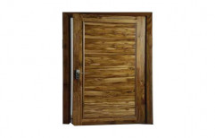 Hinged Designer Wooden Door