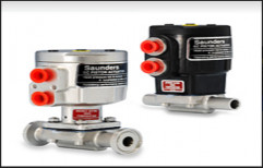 Triclover End & Buttweld End Stainless Steel Saunders Diaphragm Valves, For Industrial, Size: 08mm To 80mm