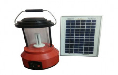 Warm White Solar CFL Lantern, Packaging Type: Box, Input Voltage: 12v