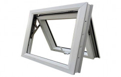 Whie Standard Top Hung Windows