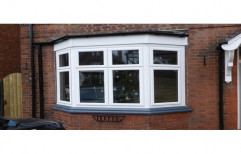 White UPVC Bay Window, 4-6 Mm, Rectangle