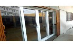 White UPVC Sliding Door, Door Location: Exterior