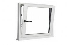 White UPVC Tilt Turn Window