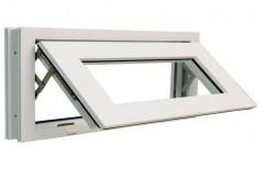 White UPVC Top Hung Window