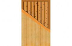 Wooden Coated Decorative Flush Door