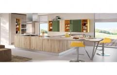Wooden Italian Modular Kitchen