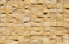 Brown Wall Stone Cladding Tiles, Thickness: 12-15, Size: 300x300 Mm