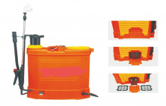 Double Pump Battery Powered Knapsack Sprayer, For Agricultural Spraying
