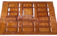 Teak Wood Panel Door