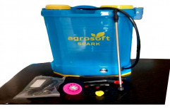 Double Pump Spark Agricultural Knapsack Sprayer, 16 lt