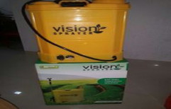 vision Portable Electric Battery Operated Knapsack Sprayer Pump, For Agriculture, Capacity: 16 liters,20 liters