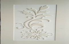 Finished Modern Design WPC 3D Carving Door for Home