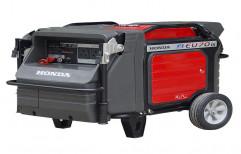 Honda 7kva Petrol Silent Generators, 230vac
