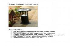 Iron Round Garden Pole, For Outdoor, 5 Watt