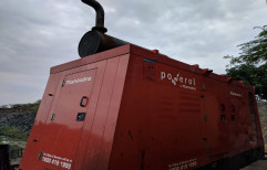 125 Water Cooling Mahindra Generator for Industrial