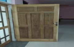 Brown Wooden Interior Plain Door, For Home