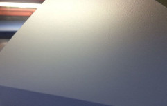 Raj Incorporated Plain Transparent Matt PVC Sheets