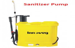 Sanitizer Pump Battery And Hand Operated Spray Pump, 8 AH, Capacity Of Storage Tank: 18ltr