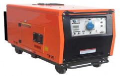 ShivShakti 6 KVA 6.5 KW Portable DIESEL GENERATOR SET, Voltage: 240 V