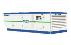 62.5 KVA Kirloskar Silent Diesel Generator Set, Model Name: KG1-62.5WS