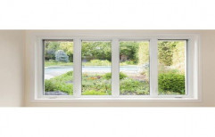 Glass & aluminium Sliding Vertical Slide Windows, For Door & Window
