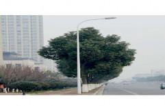 Mild Steel Galvanised Street Light Tubular Pole