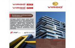 Solid Metallic Grey Virgo ACP Sheet, Thickness: 3mm-6mm