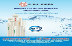 Three Phase Borewell Kirloskar Submersible Pump, For Available From 0.5 Hp To 15 Hp