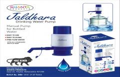 Blue Jaldhara Drinking Water Pump Plastic Manual Water Dispenser