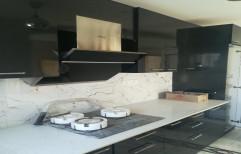 Classic L Shape Modular Kitchen