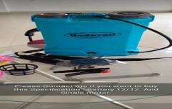 Godavari PVC 16L Agriculture Knapsack Sprayer Pump, Model Name/Number: GCBS-12, Size: 36x18x51.3 Cm