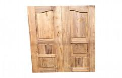Interior Designer Teak Wood Double Door