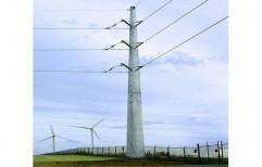 MS,HDG Transmission Pole