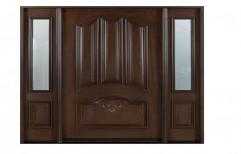 Solid Wooden Panel Door, For Window