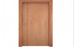 Hinged Polished PVC Flush Door, For Bathroom